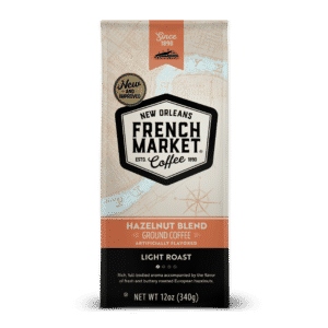 Hazelnut Blend Bag Light Roast Ground Coffee