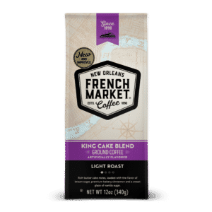 King Cake Blend Light Roast Ground Coffee