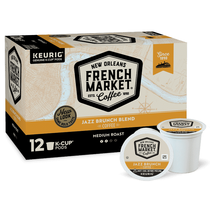 Jazz Brunch Blend Single Serve - French Market Coffee