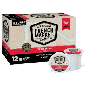 French Market Coffee Creole Blend Blend K-Cups 12 Pack