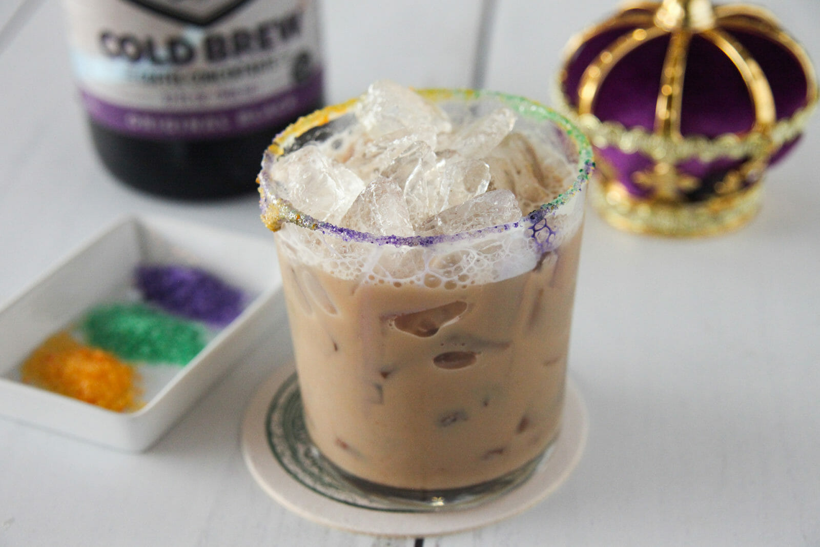 Cold Brew King Cake Cocktail