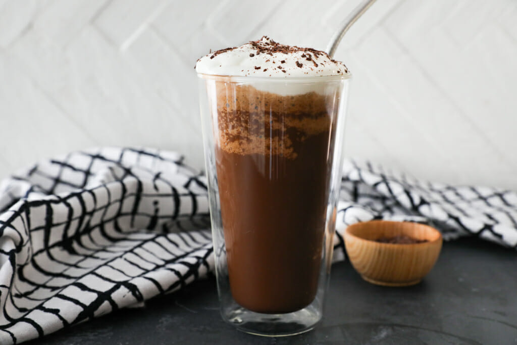 Chocolate Chicory Frappe